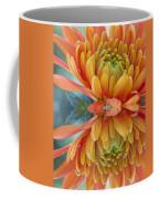 Orange Mum's Watery Reflection Coffee Mug