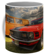 Orange Mustang Coffee Mug