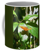 Orange On Green Coffee Mug