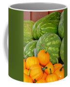Orange On Green Coffee Mug