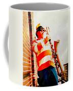 Orange On White Coffee Mug