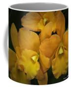 Orange Orchid Group Coffee Mug