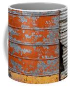 Orange Paint Coffee Mug