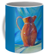 Orange Pitcher Still Life Coffee Mug