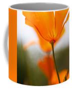 Orange Poppy In Sunlight Coffee Mug