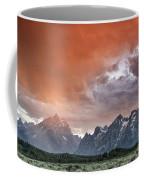 Orange Rain Coffee Mug