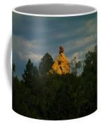 Orange Rock Among The Trees Coffee Mug