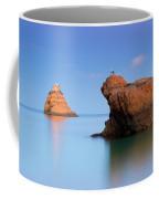 Orange Rock Formations Coffee Mug