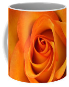 Orange Rose Coffee Mug