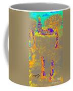 Orange Shadows Coffee Mug
