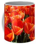 Orange Spring Tulip Flowers Art Prints Coffee Mug