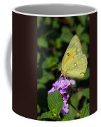 Orange Sulphur Coffee Mug