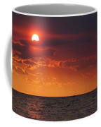 Orange Sunset Over Oyster Bay Coffee Mug
