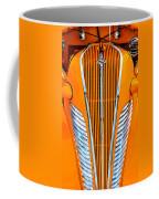 Orange Terraplane Coffee Mug