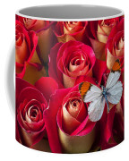 Orange Tip Butterfly Coffee Mug