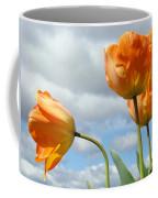 Orange Tulip Flowers Art Prints Tulips Floral Coffee Mug
