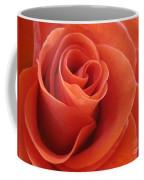 Orange Twist Rose 3 Coffee Mug