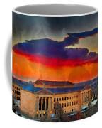 Orange Upon The Art Museum Coffee Mug