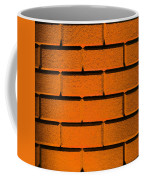 Orange Wall Coffee Mug by Semmick Photo