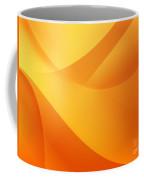 Orange Wallpaper Coffee Mug