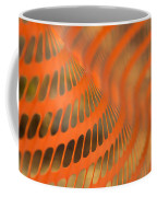 Orange Wave Coffee Mug