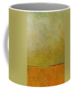 Orange With Red And Gold Coffee Mug