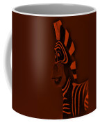 Orange Zebra Coffee Mug