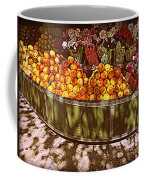 Oranges And Flowers Coffee Mug