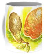 Oranges And Pears Coffee Mug