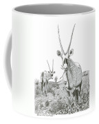 White Sands Orax  Coffee Mug
