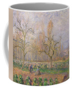 Orchard At Pontoise Coffee Mug by Camille Pissarro