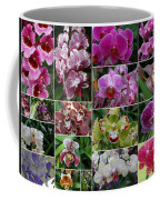 Orchid Collage 1 Coffee Mug