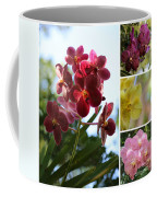 Orchid Collage Coffee Mug