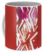 Orchid Diamonds- Abstract Painting Coffee Mug