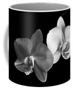 Orchid In Black And White Coffee Mug