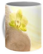 Orchid On Towel Coffee Mug