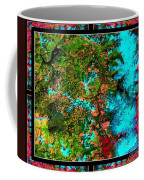 Oregon Cascades Nasa Satellite Coffee Mug