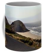 Oregon Coast And Fog Coffee Mug