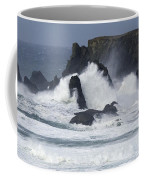 Oregon Coast Furrious Waves 1 Coffee Mug