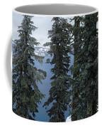 Oregon Crater Lake Panoramic Coffee Mug
