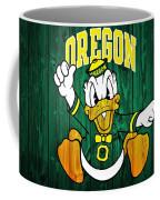 Oregon Ducks Barn Door Coffee Mug