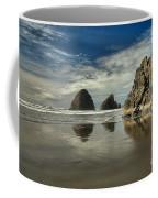 Oregon Sea Stack Reflections Coffee Mug