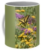 Oregon Swallowtail In The Garden  Coffee Mug