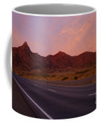 Organ Mountain Sunrise Highway Coffee Mug by Mike  Dawson