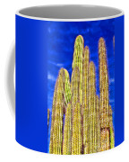Organ Pipe Cactus Arizona By Diana Sainz Coffee Mug