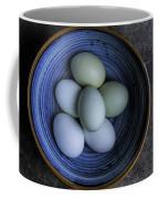 Organic Blue Eggs Coffee Mug