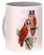 Oriental Bay Owl Coffee Mug