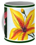 Oriental Daylily Trio Coffee Mug