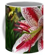 Oriental Hybrid Lily Named Dizzy Coffee Mug