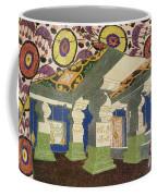 Oriental Scenery Design Coffee Mug
